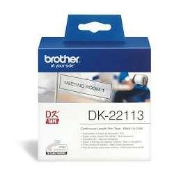 TRANSPARENT CONTINUOUS PAPER TAPE 62MM DK22113