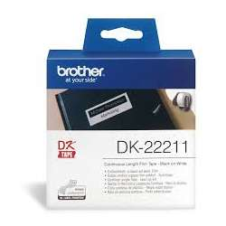 PLASTIC WHITE CONTINUOUS PAPER TAPE 29MM DK22211