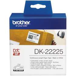 BROTHER 38mm DK22225 CONTINUOUS PAPER TAPE