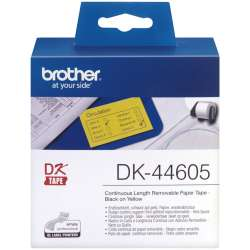62MM DK44605 YELLOW CONTINUOUS PAPER TAPE