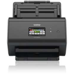 SCANNER BROTHER ADS2800W A4 CORES COM REDE E WIFI