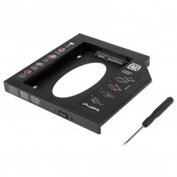 "ADAPTADOR LAMBERG IFSATA13 SLIM DVD PLAYER HDD / SSD 2.5"""