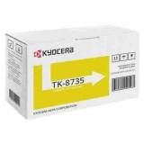 TONER AMARELO KYOCERA TK-8735Y