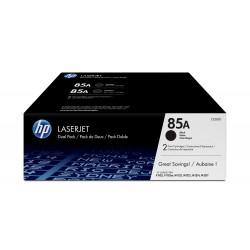 HP Conjunto Duplo de Toner LaserJet Original 85A Preto