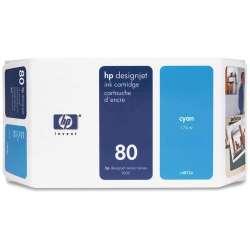 HP CYAN Cartridge Nº80 350ML