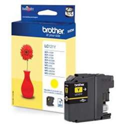 YELLOW CARTRIDGE BROTHER LC-121Y