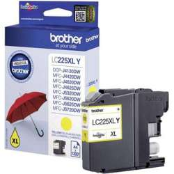 YELLOW BROTHER LC-225XLY CARTRIDGE