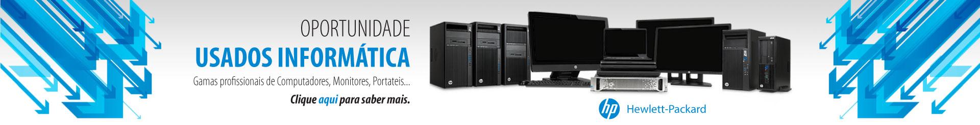 OPORTUNIDADE, USADOS INFORMÁTICA. Gamas profissionais de Computadores, Monitores, Portateis...